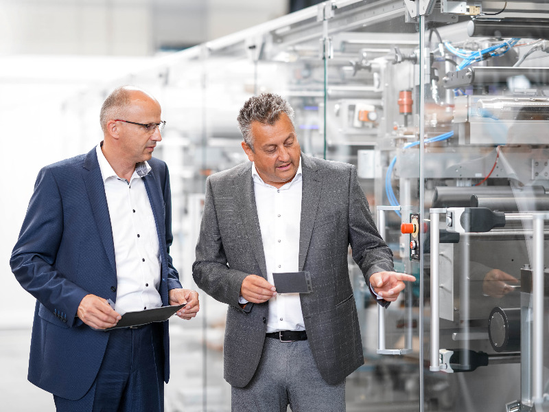 Produktionsanlagen für Brennstoffzellen
